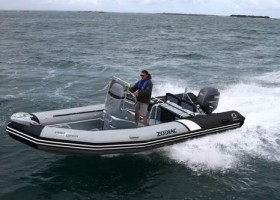 Zodiac Pro Open 650 On Water